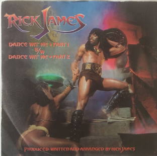 "Rick James ‎- Dance Wit' Me (7"") (VG-/G++)"
